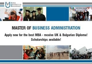 MBA in Bulgaria, why not?