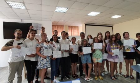English language trainings at VUM Varna and Albena and another great group of children and young people from Ukraine