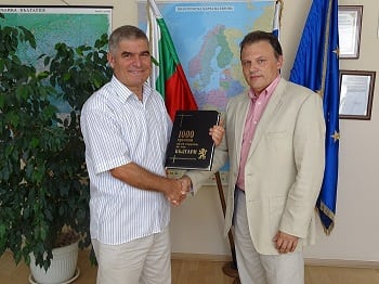 The Ambassador of Malta to Bulgaria, H. E. Lino Bianco visited VUM