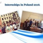 Internships in Poland 2016