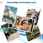 Internships in Germany 2016