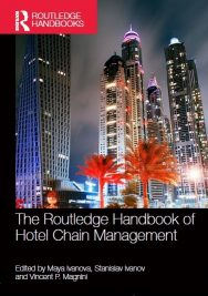 "Лектори на ВУМ – редактори на ""The Routledge Handbook of Hotel Chain Management"""