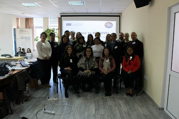 International representatives of partnering higher education institutions