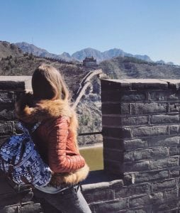 VUM students visiting the Great Wall of China