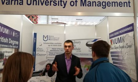 Екип на ВУМ се завърна от Украйна