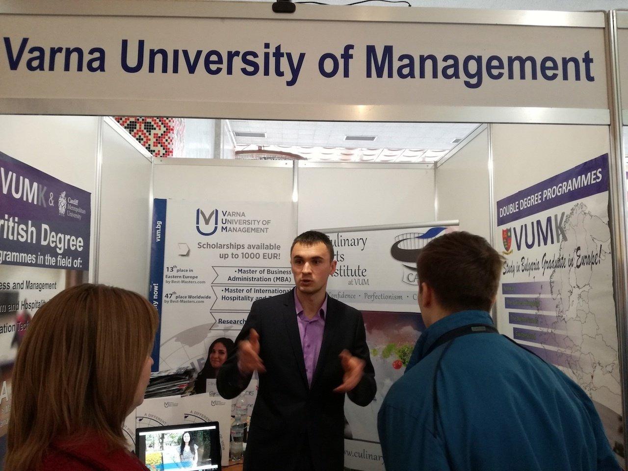 Education Abroad Fair in Ukraine