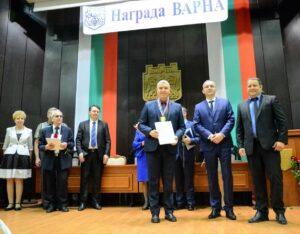 Станислав Иванов_Награда Варна