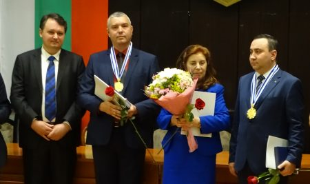 Prof. Stanislav Ivanov with a Varna Award in Social Studies