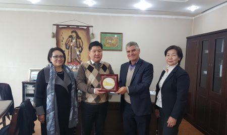 Assoc. prof. Todor Radev with a visit at Mongolian University of Science and Technology