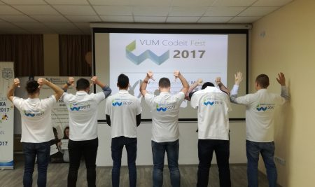 VUM Codeit Fest 2017 with the participation of software engineers and students