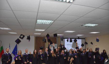 Дипломиране на випуск 2017 във Висше училище по мениджмънт