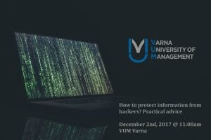 How to protect information from hackers