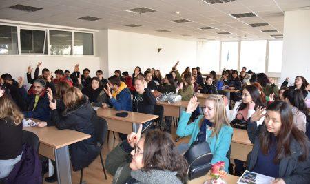 Новият семестър за ВУМ започва с нови студенти от 5 континента