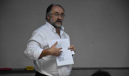 The visit of Nigel Jones – Link Tutor at VUM