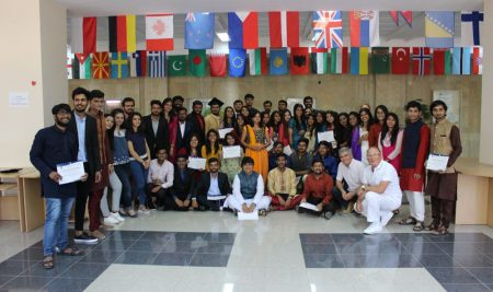 MBA students from India at VUM