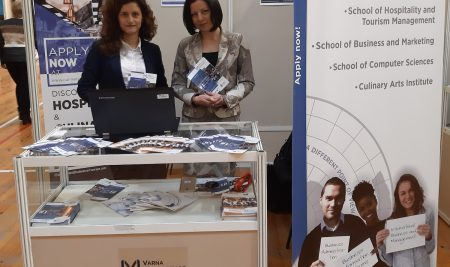 Varna University of Management at TourExpo Destination Varna