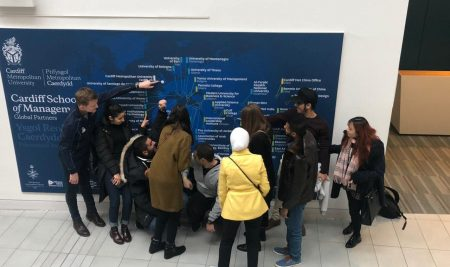 Студент на ВУМ участва в събитие на Студентския съвет на  Кардиф Метрополитън