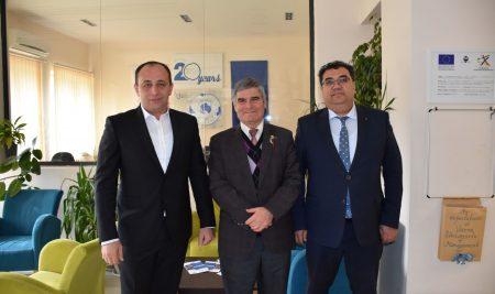 Посещение на представители от Икономически университет Ташкент и Министерството на образованието в Узбекистан във Висше Училище по Мениджмънт