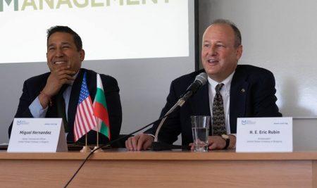 ВУМ посрещна посланик Ерик Рубин и екип на Посолството на САЩ