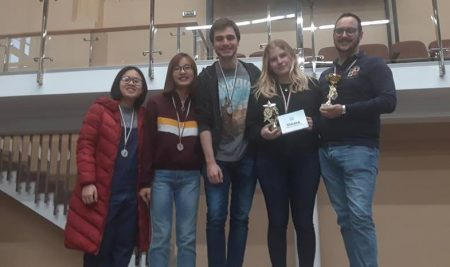 VUM's students ranked First in a bowling competition at Varna Universiade 2019
