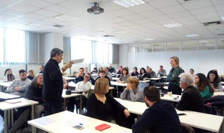 Entrepreneurial Learning session in Greece organized by VUM