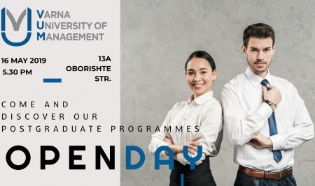 Postgraduate Programmes Info Day at Varna University of Management