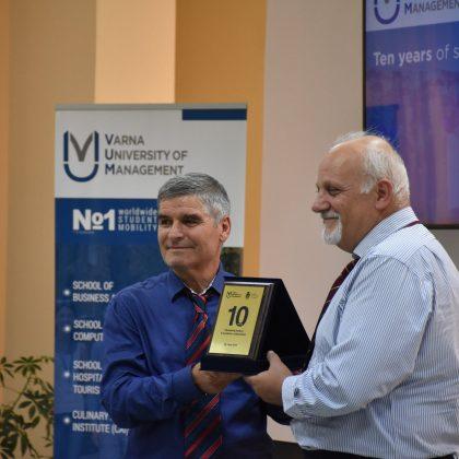10 Years British Standards of Education at Varna University of Management