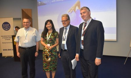 Изключително висока оценка за организация получи 69-та конференция на  Международната асоциация на научните експерти по туризъм