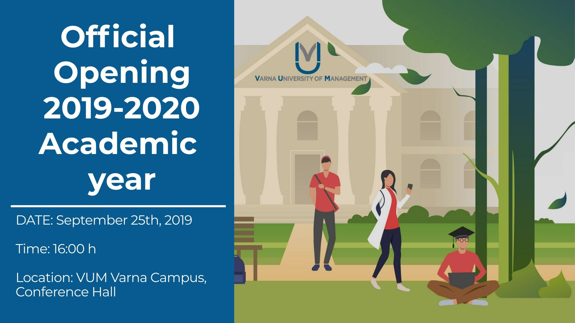 Opening 2019/2020 Academic Year