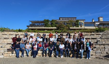 Студенти на ВУМ на учебно пътуване по Северното Черноморие