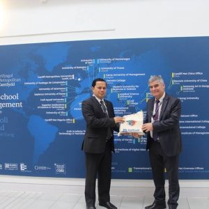 Varna University of Management (VUM) and Cardiff Metropolitan University (Cardiff Met)