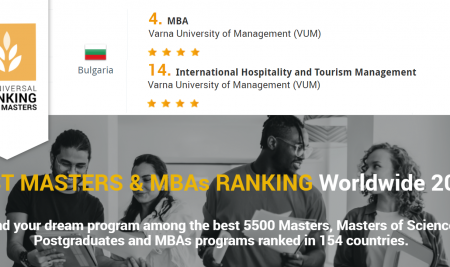 VUM postgraduate programmes among the top in the world