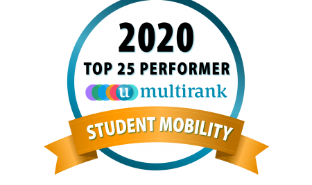 On the top again: VUM ranked # 1 worldwide for student mobility according to U-Multirank